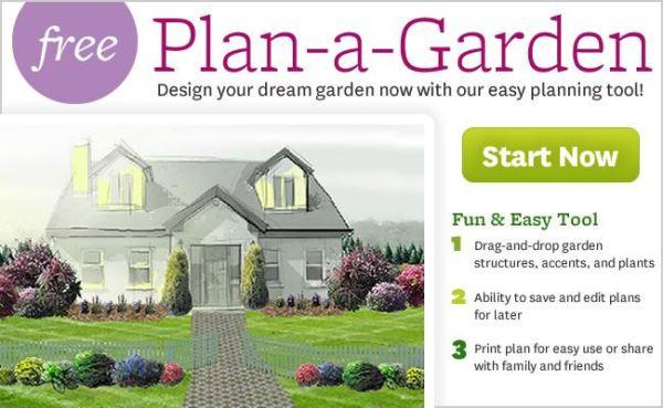 Программа для ландшафтного дизайна Plan a garden