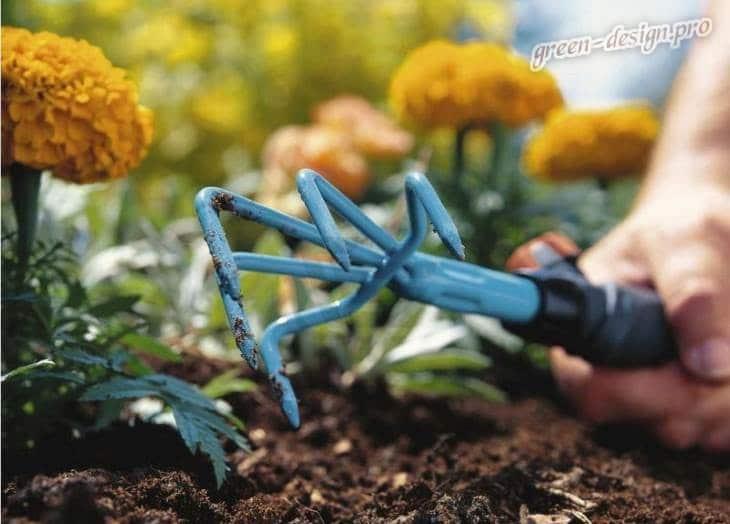 ручной культиватор для цветников